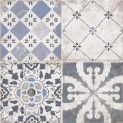 Creta Decor Grey - dlaždice 20x20 šedá