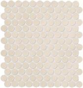 Color Now Beige Mosaico Round - obkládačka mozaika 29,5x32,5 béžová