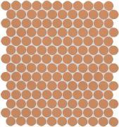 Color Now Curcuma Mosaico Round - obkládačka mozaika 29,5x32,5 oranžová