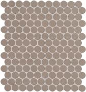 Color Now Fango Mosaico Round - obkládačka mozaika 29,5x32,5 hnědá