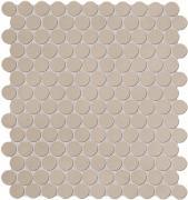 Color Now Tortora Mosaico Round - obkládačka mozaika 29,5x32,5 béžová
