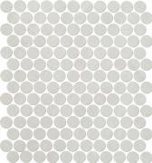 Color Now Perla Mosaico Round - obkládačka mozaika 29,5x32,5 šedá