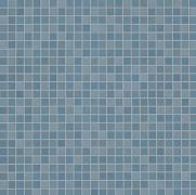 Color Now Avio Micromosaico - obkládačka mozaika 30,5x30,5 modrá