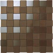 Marvel Bronze Net Mosaico - obkládačka mozaika 30,5x30,5 hnědá