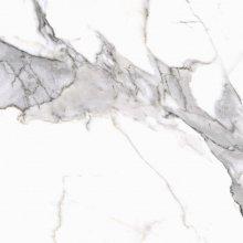 Calacatta white mat - dlaždice rektifikovaná 59,7x59,7 bílá, R9