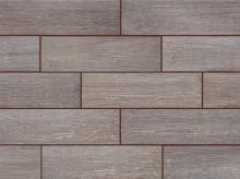 Tilia steel - dlaždice 17,5x60 hnědá