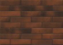 Retro brick chili - obkládačka 6,5x24,5 červená