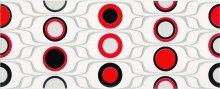 Red circles inserto - obkládačka inzerto 20x50