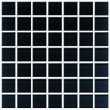 Domenico black glass mosaic - obkládačka mozaika skleněná 20x20