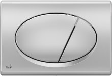 M72 - WC ovládací tlačítko chrom-mat