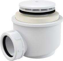 Sifon vaničkový, bílý, prům. 52 mm