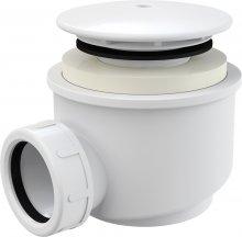 Sifon vaničkový, bílý, prům. 60 mm