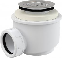 Sifon vaničkový s nerezovou mřížkou, prům. 50 mm