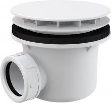 Sifon vaničkový, bílý, prům. 90 mm