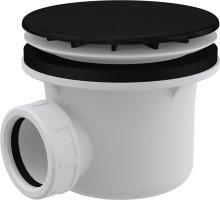 Sifon vaničkový, prům. 90 mm, černá mat
