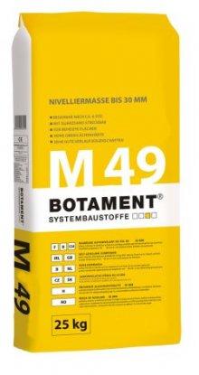 M 49 samonivelační stěrka do 30 mm, 25 kg, pro vnitřní prostředí