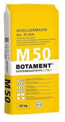 M 50 samonivelační stěrka do 15 mm, 25 kg, pro vnitřní i vnější prostředí