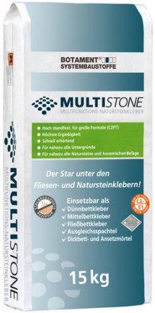 MULTISTONE multifunkční lepicí tmel pro keramické dlaždice a přírodní kameny C2 FT S1/S2, 15 kg