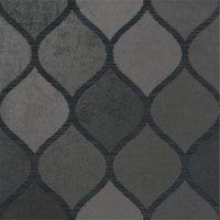 Claqué Deko Negro - dlažba rektifikovaná 80x80 černá