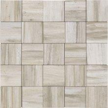 Malla Yellowstone Silver Grey - obklad mozaika 24,6x24,6 šedá
