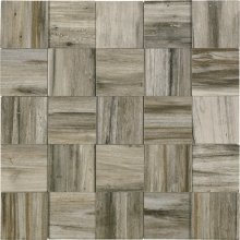 Malla Yellowstone Royal Grey - obklad mozaika 24,6x24,6 šedá