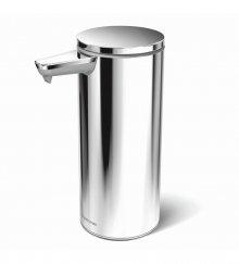 Bezdotykový dávkovač tekutého mýdla Simplehuman - 266 ml, leštěná nerez, dobíjecí