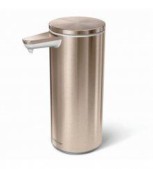 Bezdotykový dávkovač tekutého mýdla Simplehuman - 266 ml, rose gold ocel, dobíjecí