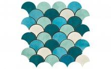 MK. Shades 2 mix - obkládačka mozaika 30x30 modrá