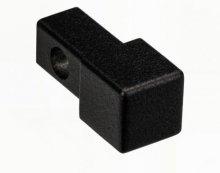 ZQVN/10/EI - ukončení profilu, hliník černý