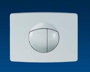 Sanit ovládací tlačítko maloformátové - seidenmatt