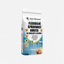 Flexibilní spárovací hmota na obklady a dlažbu, bílá, 5 kg