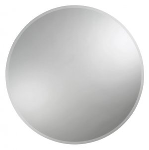 zrcadlo s fazetou, kulaté, 70 cm