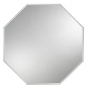 VÝPRODEJ VZORKŮ zrcadlo s fazetou, 8-hran, 60x40 cm