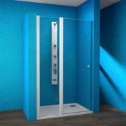 ESDKR 1-1/90 L - sprchové dveře křídlové levé 90x190 cm, rám bílý