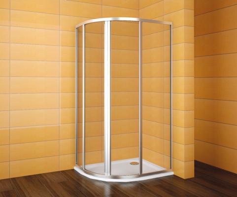 sprchové kouty čtvrtkruhové
