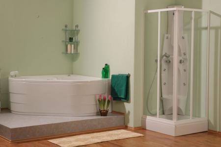 sprchové kouty čtvercové