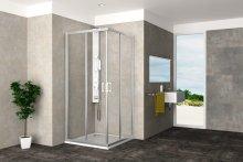 ECO SET KLRH 90 - sprchový kout čtvercový 90x90x190 cm + vanička Draco