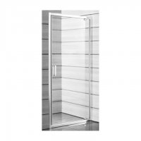 Lyra Plus - sprchové dveře pivotové 90 cm, sklo Stripy