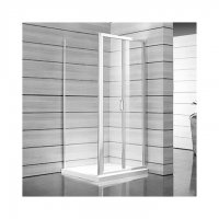 Lyra Plus - sprchové dveře skládací 90 cm, sklo čiré