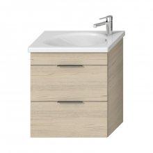 Tigo - skříňka pod umyvadlo 65 cm, 2 zásuvky, jasan