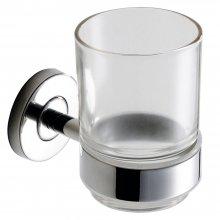 Medius - držák na skleničku, nerez lesk