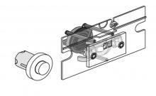 Pneumatické ovládání pro bezbariérové WC pro velkou ovládací desku