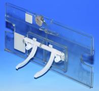 Krycí průhledná deska montážního otvoru WC modulu