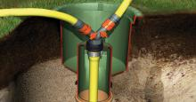 Garantia - perfecta šachta rozvodu vody