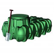 Li-Lo - nádrž na dešťovou vodu, 5000 l