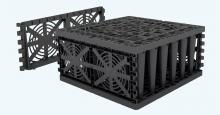 Vsakovací blok Garantia Ecobloc Maxx, zakončení bloku – 2 ks