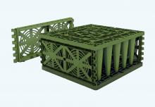 Vsakovací blok Garantia Ecobloc Light, zakončení bloku – 2 ks