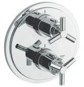 Atrio - termostatická vanová podomítková baterie, bez podomítkového tělesa