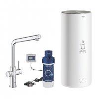 Grohe Red Duo - baterie a zásobník pro vroucí a teplou vodu (7l)