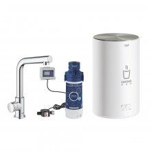 Grohe Red Mono - stojánkový ventil a zásobník pro vroucí a teplou vodu (4l)